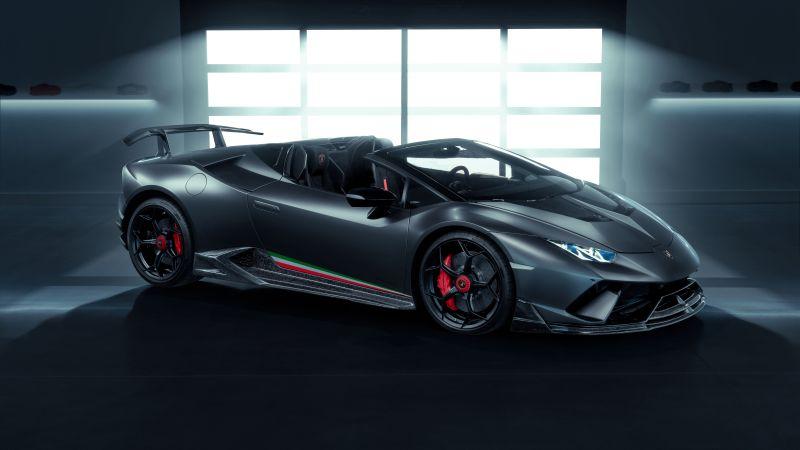 Lamborghini Huracan Performante Spyder Vicenza Edizione, 2020, 5K, 8K, Wallpaper