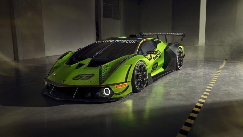 Lamborghini Essenza SCV12, Hypercars, 2020, 5K, 8K, Wallpaper