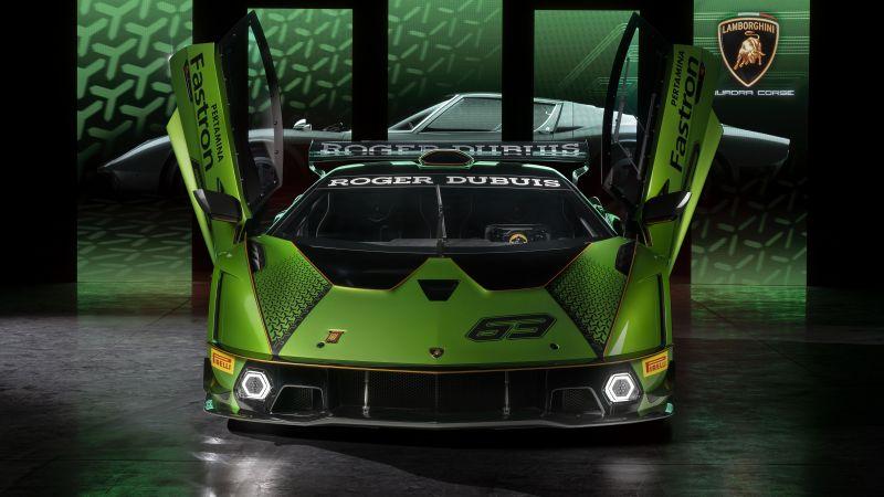 Lamborghini Essenza SCV12, Hypercars, 2020, Wallpaper