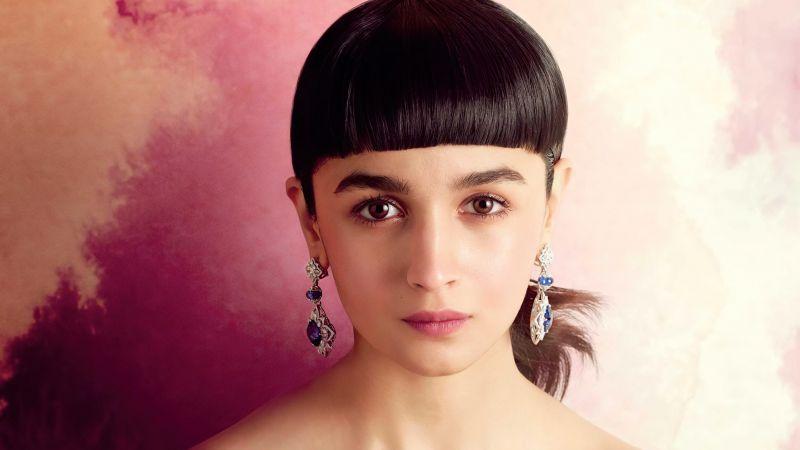 Alia Bhatt, Indian actress, Bollywood actress, Portrait, 2020, Wallpaper