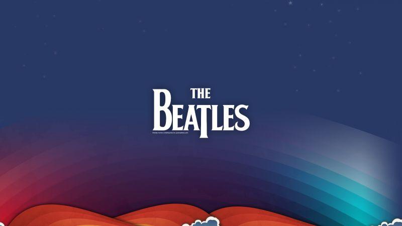 The Beatles, Rock band, Illustration, Wallpaper