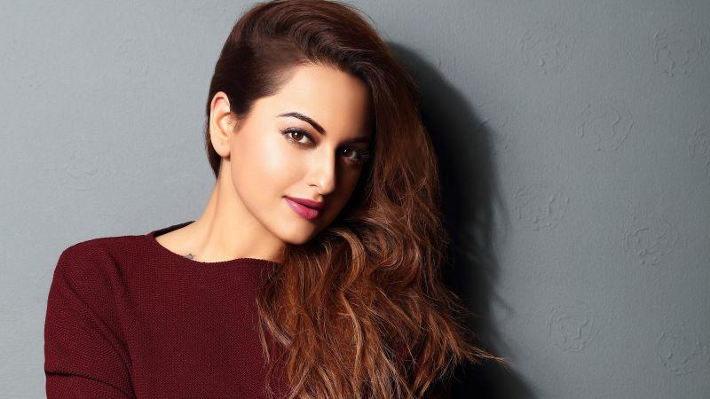 Sonakshi Sinha, Bollywood actress, Beautiful actress, Indian actress, 5K, Wallpaper