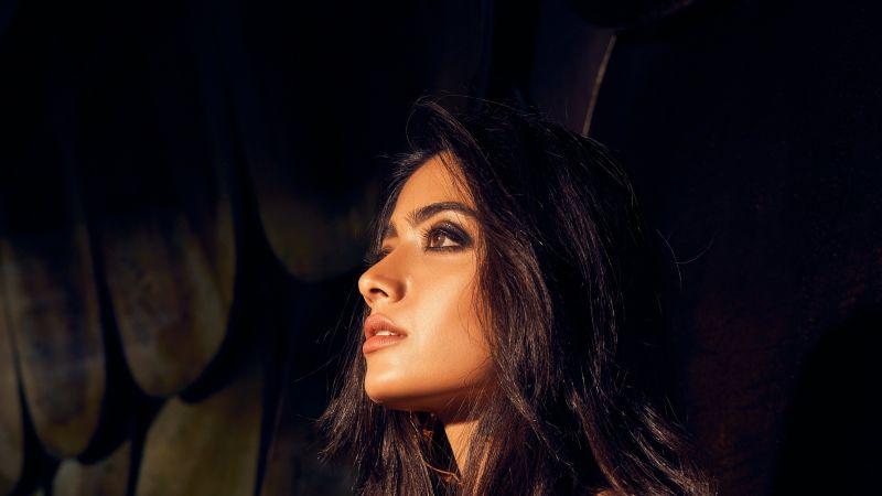 Rashmika Mandanna, Indian actress, Telugu Actress, 5K, Wallpaper