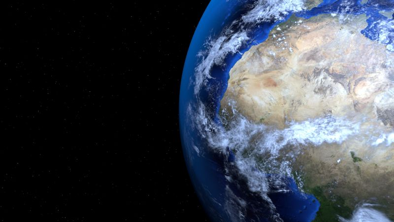 Earth 4k Wallpaper Black Background Planet Space Global Warming Space 2045