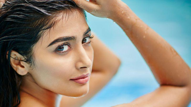 Pooja Hegde, Indian actress, Bollywood actress, Wallpaper