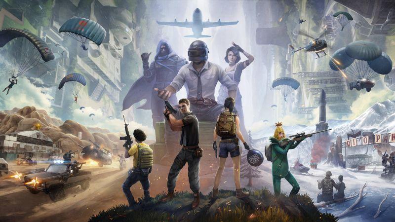 PUBG, PlayerUnknown's Battlegrounds, 2020 Games, 5K, 8K, Wallpaper