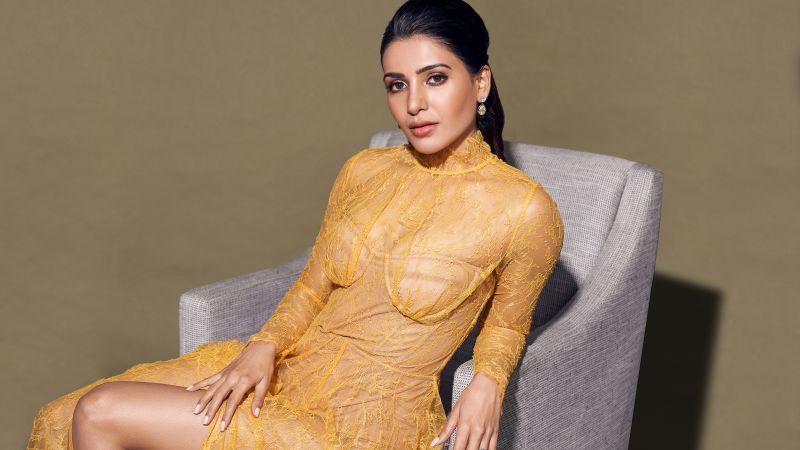 Samantha, Hot actress, Telugu actress, Tamil actress, Indian actress, Wallpaper