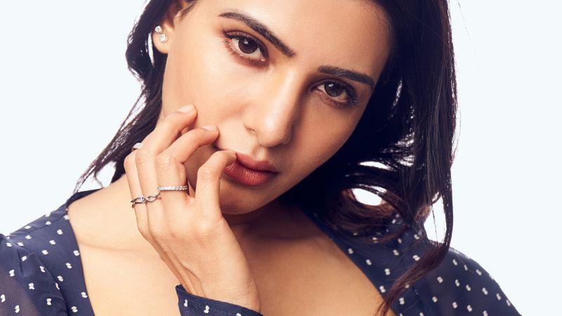 Samantha, Indian actress, Portrait, Telugu Actress, Tamil actress, Wallpaper