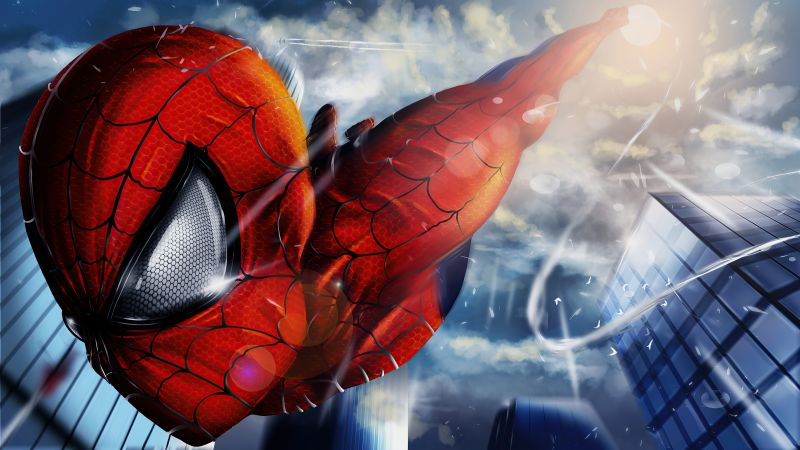 Spider-Man, Marvel Superheroes, Wallpaper