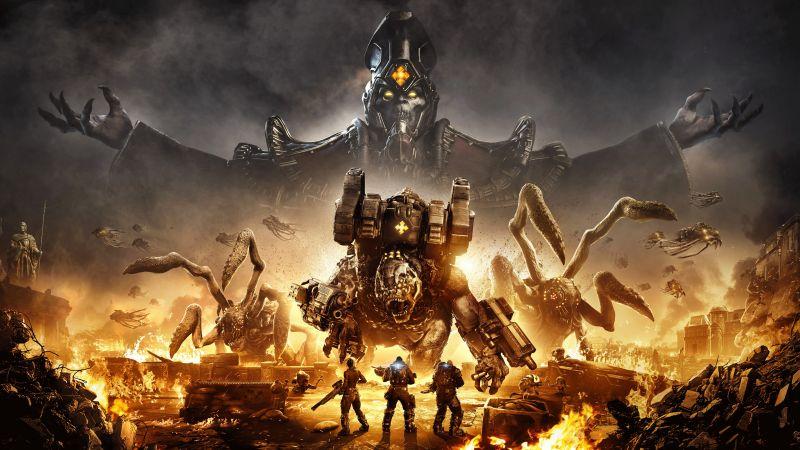 Gears Tactics, 2020 Games, Xbox One, PC Games, Wallpaper