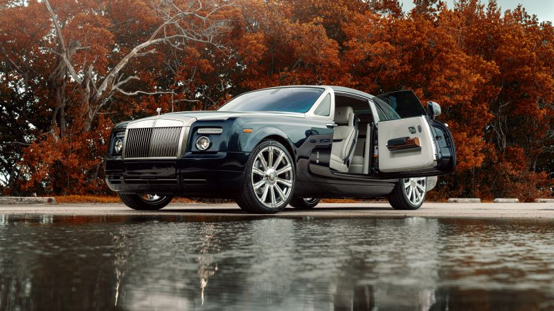 Rolls-Royce Phantom, Luxury cars, 5K, Wallpaper