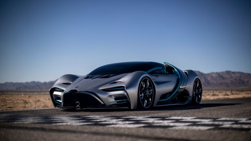 Hyperion XP-1, Hydrogen fuel cell, Hypercars, Electric cars, 2020, 5K, Wallpaper