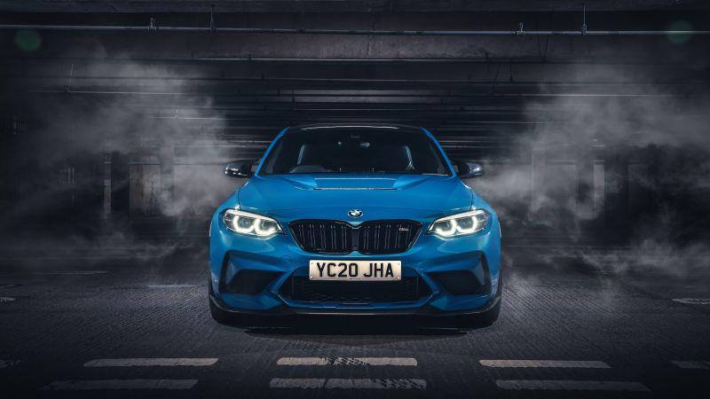 BMW M2 CS, 2020, 5K, Dark background, Wallpaper