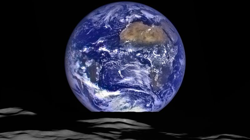 Earth, Lunar Reconnaissance Orbiter Camera, 5K, Wallpaper
