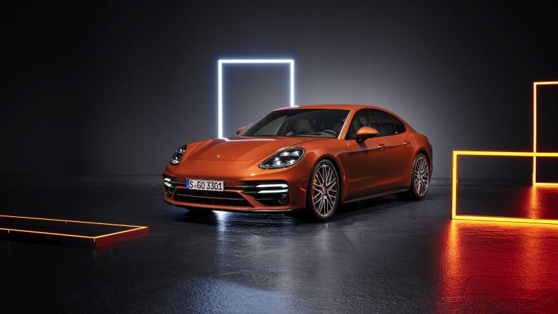 Porsche Panamera Turbo S, 2020, 5K, Wallpaper