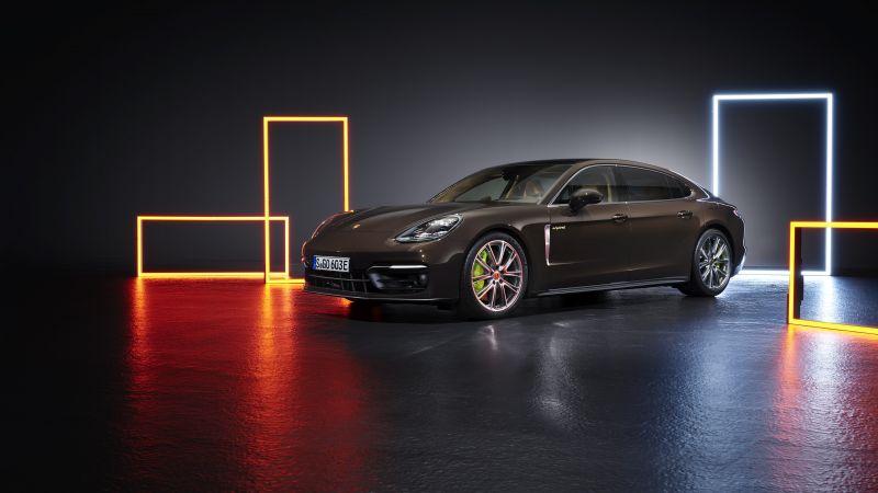 Porsche Panamera 4S E-Hybrid Executive, 2020, 5K, Wallpaper