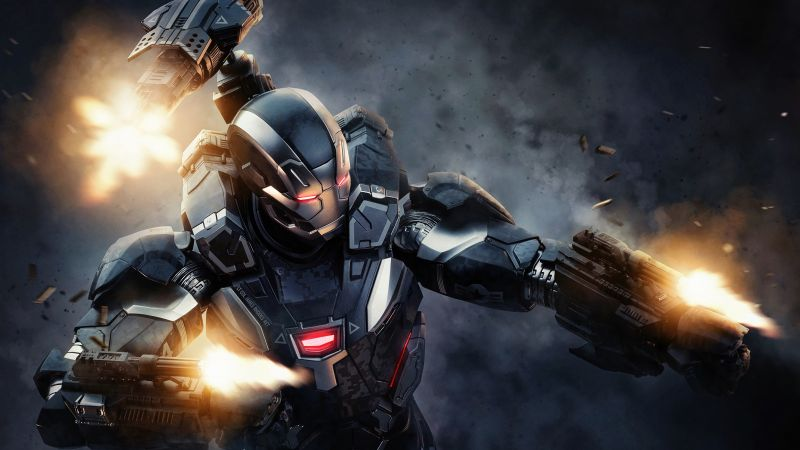 War Machine, Iron Man, Marvel Superheroes, Wallpaper
