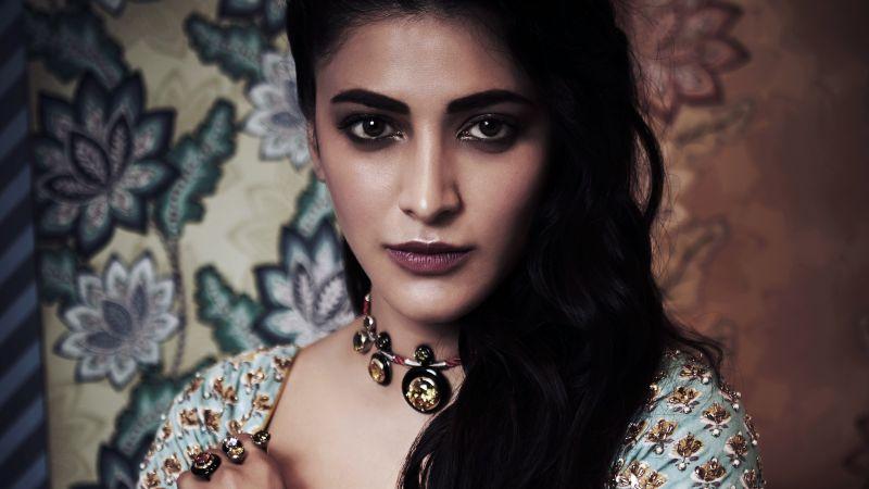 Shruti Haasan, Indian actress, Kollywood, Telugu Actress, Wallpaper