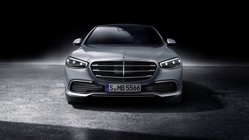 Mercedes-Benz S-Klasse lang, 2020, 5K, Wallpaper