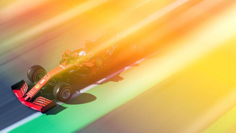 Ferrari, F1 Cars, Racing cars, Formula 1, Team Ferrari, F1 2020, Wallpaper