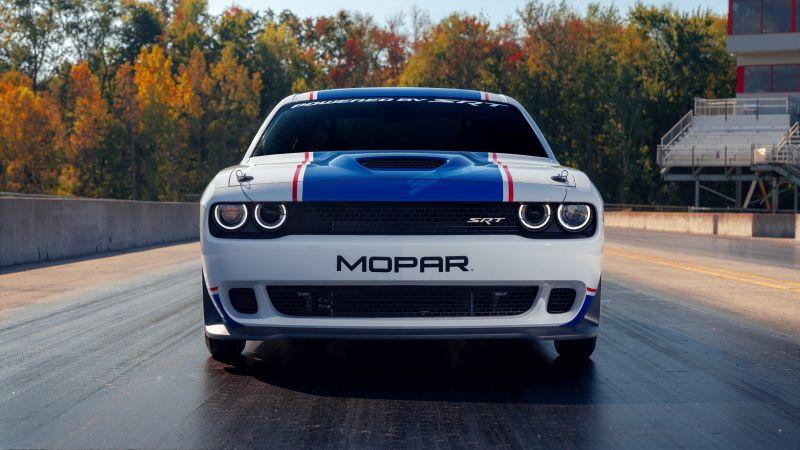 Mopar Dodge Challenger Drag Pak, 2020, Wallpaper