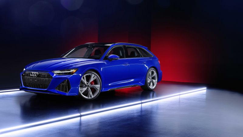 Audi RS 6 Avant RS Tribute Edition, 2021, 5K, 8K, Wallpaper