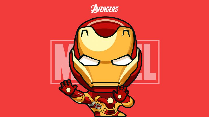 Iron Man, Marvel Comics, Avengers, Wallpaper