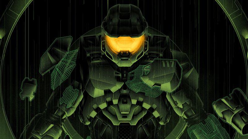 Master Chief, Halo Infinite, Artwork, Wallpaper