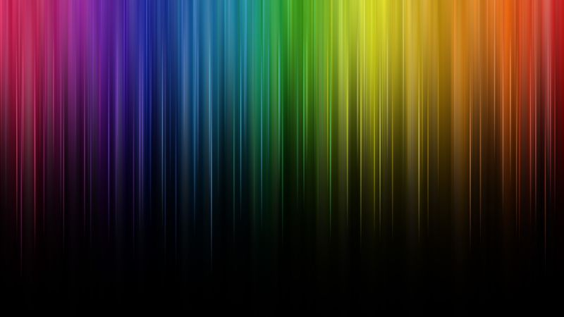 Spectrum, Rainbow colors, Colorful, Multicolor, Wallpaper