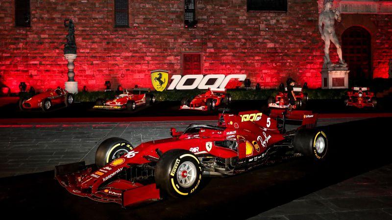 Ferrari SF1000, Formula One cars, Formula 1, Racing cars, 2020, Wallpaper