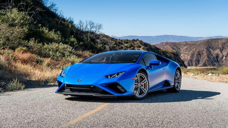 Lamborghini Huracan EVO RWD, 2020, Wallpaper