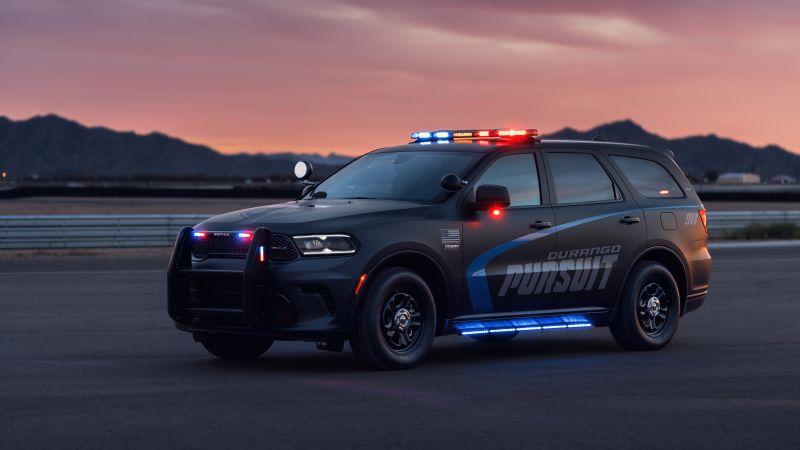 Dodge Durango Pursuit, Police Cars, 2021, 5K, 8K, Wallpaper