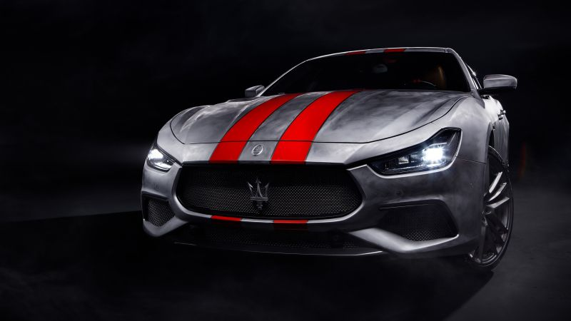 Maserati Ghibli Trofeo Corse, 2021, Wallpaper