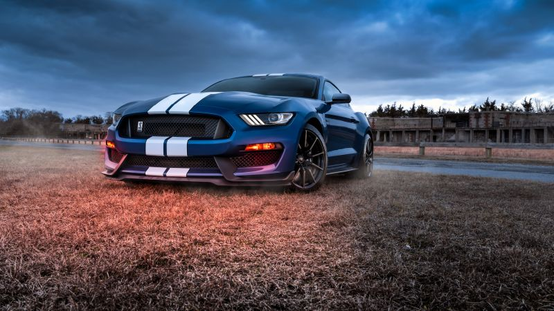 Ford Mustang Shelby GT500, Muscle cars, Wallpaper
