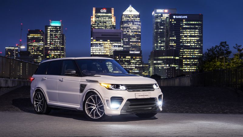 Land Rover Range Rover Sport SVR, Overfinch Supersport, 2020, 5K, Wallpaper