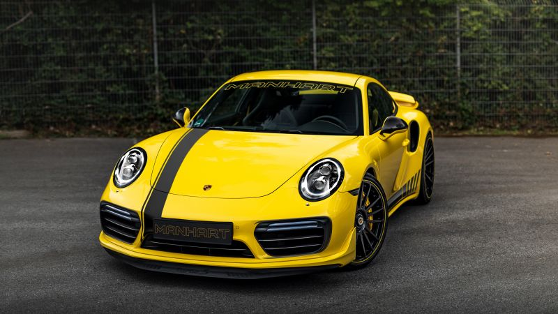 Porsche 911 Turbo S, Manhart TR 850, 2020, 5K, Wallpaper