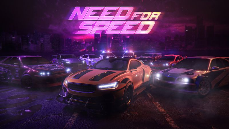 Need for Speed, Police Cars, Racing cars, Wallpaper