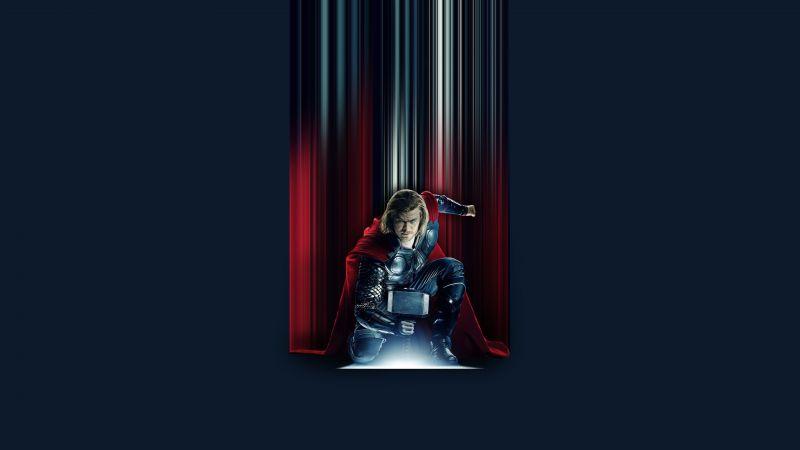 Thor, Chris Hemsworth, Marvel Superheroes, Marvel Cinematic Universe, Wallpaper