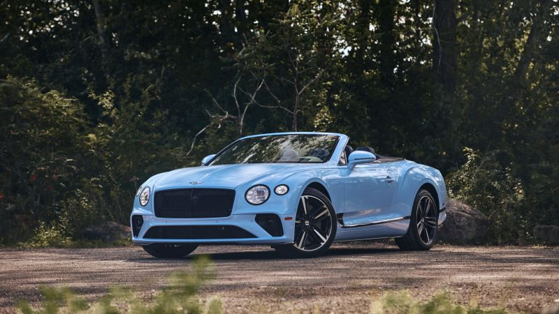 Bentley Continental GT, Convertible, 2020, 5K, 8K, Wallpaper