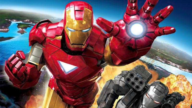 Iron Man, War Machine, Marvel Comics, Marvel Superheroes, Wallpaper