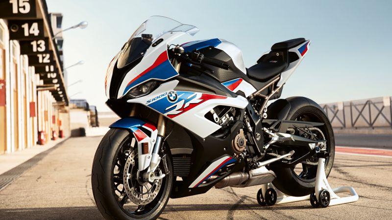 BMW S1000RR, M Package, 2020, Race bikes, 5K, Wallpaper