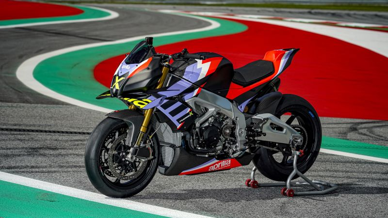 Aprilia Tuono V4 X, 2021, Superbikes, Wallpaper
