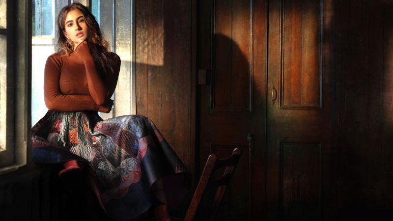 Sara Ali Khan, Indian actress, Bollywood actress, Wallpaper