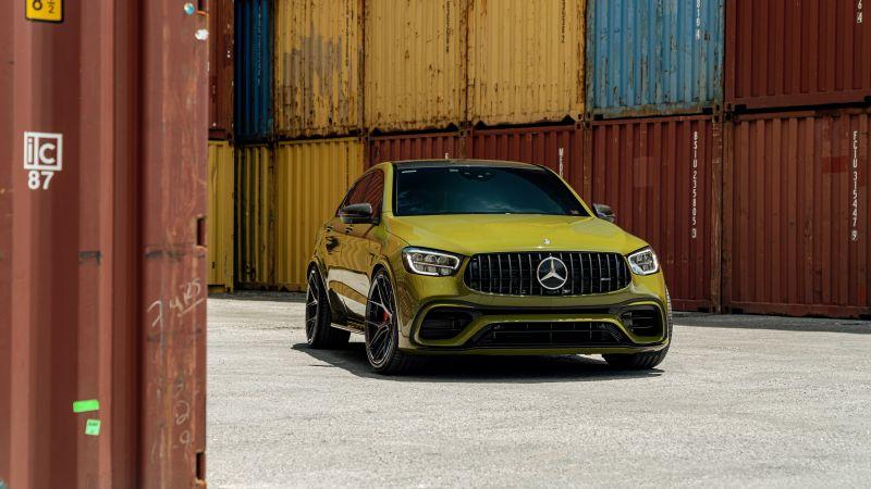 Mercedes-AMG GLC 63, 5K, 8K, Wallpaper