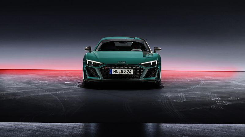 Audi R8 Green Hell, Limited edition, Supercars, 2021, 5K, Wallpaper