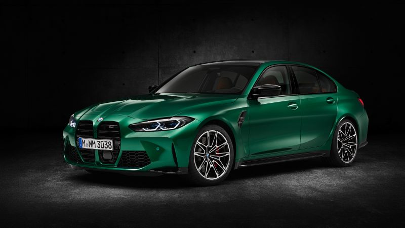 BMW M3 Competition, 2020, Wallpaper