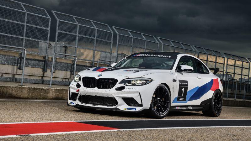 BMW M2 CS Racing, 2020, 5K, 8K, Wallpaper