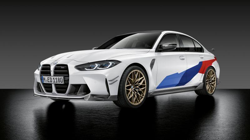 BMW M3 Competition, M Performance Parts, 2020, 5K, Wallpaper