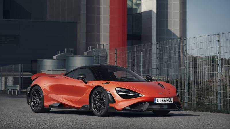 McLaren 765LT, Supercars, 2021, 5K, Wallpaper
