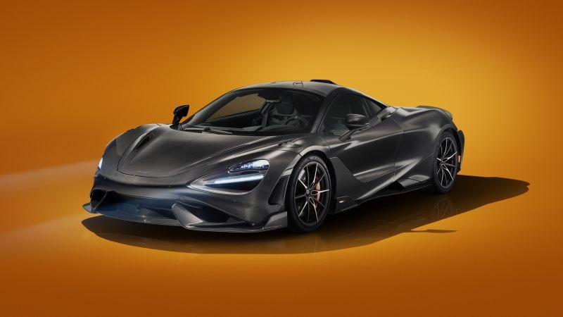 McLaren 765LT, Visual Carbon Fibre, 2021, 5K, 8K, Wallpaper